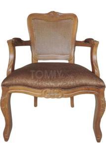 Poltrona Luis Xv - Encosto Palha - Tommy Design