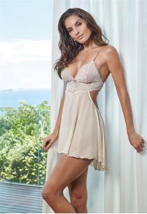 Camisola Pérola Em Renda Sexy Di Carla 30093 Demillus