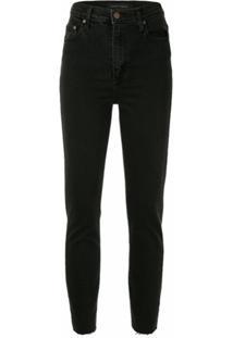 Nobody Denim Calça Jeans Skinny Siren Cintura Alta - Preto
