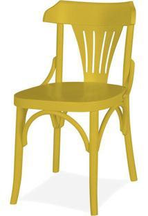 Cadeira Opzione Acabamento Amarelo - 14215 - Sun House