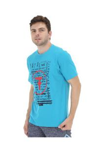Camiseta Fatal Estampada 20342 - Masculina - Turqueza