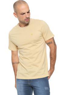 Camiseta Cavalera Textura Amarela
