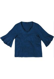 Blusa Azul Escuro