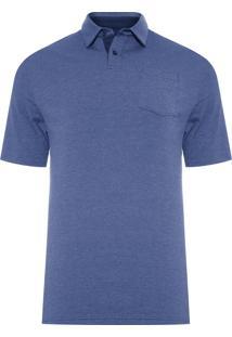 Camiseta Masculina Scramble Polo - Azul