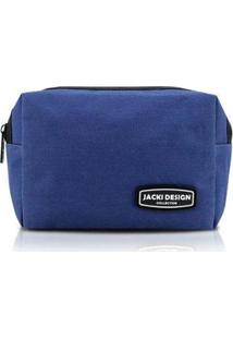 Necessaire Jacki Design Lisa Urbano Masculina - Masculino-Azul