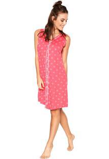 Camisola Malwee Liberta Curta Botões Rosa