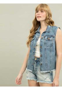 Colete Jeans Jeans - Lez A Lez