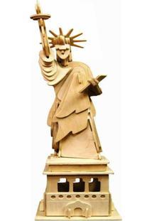 Quebra Cabeça 3D Wamboo Estátua Da Liberdade 72 Pçs Multicolorido