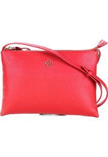 Bolsa Capodarte Mini Bag Soft New Feminina - Feminino-Vermelho