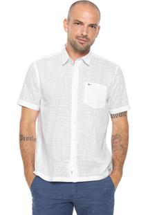 Camisa Aramis Reta Básica Branca