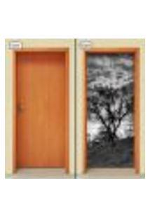 Adesivo Decorativo De Porta - Natureza - Paisagem - 1305Cnpt
