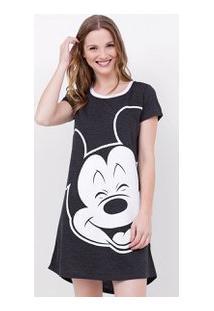Camisola Com Estampa Mickey