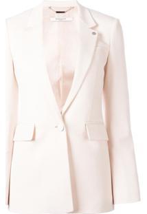Givenchy Blazer Com Lapelas - Rosa