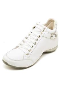 Bota Clube Do Sapato De Franca Top Confort 2 Fivela Branca