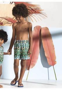Bermuda Infantil Menino Em Tecido Tactel De Poliéster Puc Lab Por Lenny Niemeyer [] []