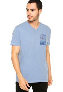 Camiseta Richards Conforto Azul