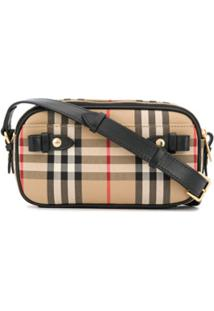 Burberry Mini Vintage Check Camera Bag - Neutro