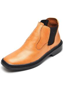 Bota Botina Top Franca Shoes Whisky