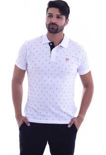 0385444bf3 ... Camisa Polo Live Marine Branca 1081-01 - G