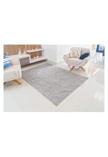 Tapete Realce Charm 1,50X2,00M Cinza