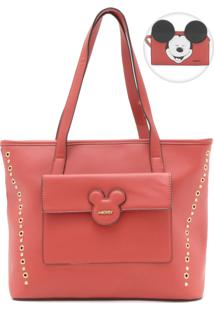 Bolsa Mickey Mouse Bolso Frontal Vermelha
