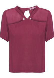 Blusa Feminina Forma - Vermelho