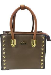 Bolsa Pequena Casual Importada Sys Fashion 8530 Caqui