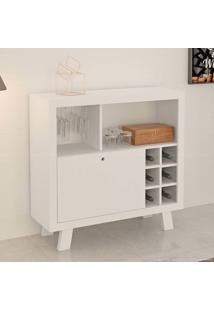 Bar/Adega 1 Porta Basculante Ad5002 Branco - Tecno Mobili