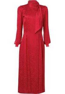 Vestido Atelier Le Lis Laura (Vermelho, 44)