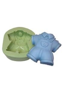 Forma De Silicone Roupinha Infantil - Acquacolor