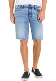 Bermuda Jeans Modelagem Reta Eco Denim