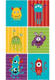 Toalha De Banho Felpuda Monsters- Amarela Vermelhalepper