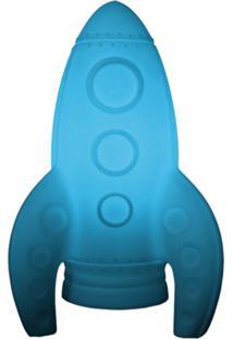 Luminária Casa Da Mãe Joana Foguete Azul