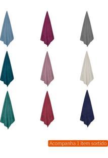 Cobertor Casal Microfribra Colorido 220X180 Cm