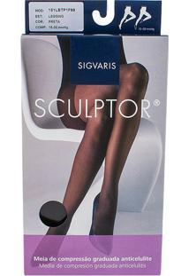Meia Calça Legging Anti Celulite 151 Lbt Sigvaris Preta