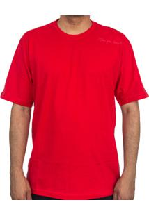 Camiseta Make Shoulder Vermelha