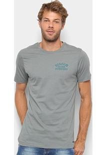 Camiseta Volcom Silk Slim Hypno Tech Masculina - Masculino