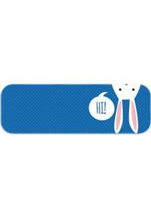 Passadeira Love Decor Wevans Páscoa Cute Azul - Kanui