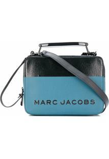 Marc Jacobs Bolsa Transversal Com Estampa De Logo - Azul