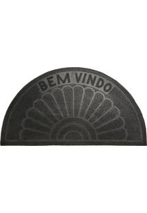 Capacho De Borracha Ecco-1 33X60 - Edantex - Preto