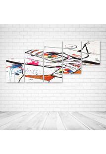 Quadro Decorativo - Sexy Urban Art - Composto De 5 Quadros
