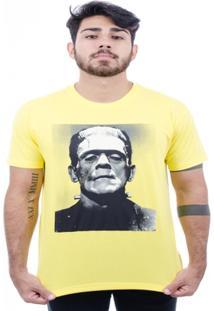 Camiseta Hardivision Frank Manga Curta - Masculino