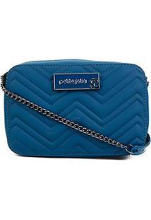 Bolsa Petite Jolie Mini Bag Nic Feminina - Feminino-Azul