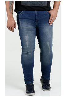 Calça Masculina Jeans Plus Size Razon