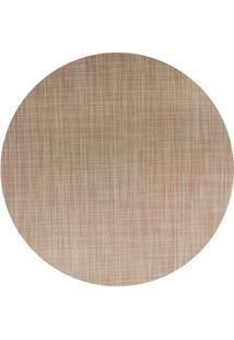 Jogo Americano Textilene 45 X 30Cm Circle Bege