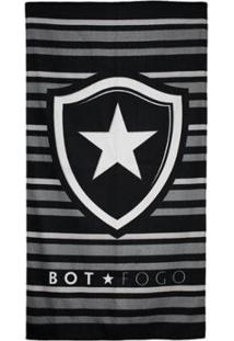 Toalha De Banho Bouton Botafogo Felpuda 70 X 1,30 Cm - Unissex