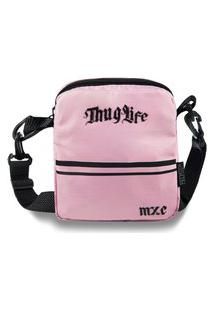 Shoulder Bag Mxc Brasil Mini Bolsa Lateral Ombro Necessaire Transversal Rosa
