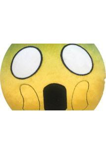 Almofada Capital Do Enxoval Emoji Assustado Estampado