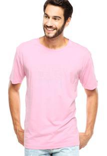 Camiseta Tommy Hilfiger Reta Rosa