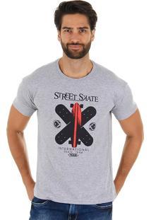 Camiseta Masculina Maidale - Cza/Vrm